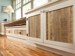reclaimed wood cabinet doors bar cabinet