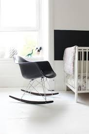 Black Rocking Chair For Nursery by Best 25 Eames Rocking Chair Ideas On Pinterest Eames Rocker