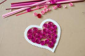 Craft Design Ideas Valentine U0027s Day Craft Idea For Kids A Fun Paper Quilling Project
