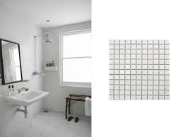really lovely white penny tile ceramic wood tile