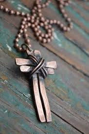 today sale 20 off cross necklace rustic silver jewelry by