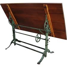 antique drafting table antique industrial drafting table cast iron base it u0027s sitting in