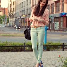 Mint Colored Skinny Jeans 82 Best Mint Jeans Images On Pinterest Spring