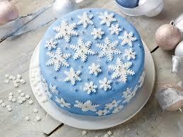 Christmas Cake Decorating Ideas Jane Asher Snowflake Cake By Jane Asher Poundland