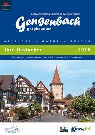 K Henm El Gengenbach Und Berghaupten Gastgeber 2016 By Kultur Und