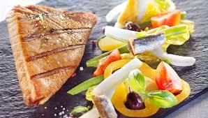 cuisiner thon recette steak de thon grillé façon salade niçoise facile pour 4