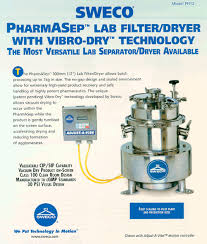 ph12 pharmasep filter dryer sweco pdf catalogue technical