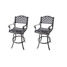 Patio Table Height by Innovative Bar Height Patio Table And Swivel Chairs Creative