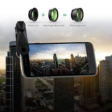 amazon com aukey optic iphone camera lens 180 fisheye lens