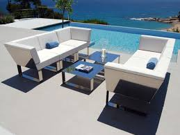 Modern Outdoor Patio Furniture - Designer outdoor tables