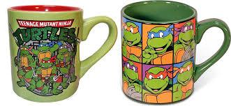 amazon com teenage mutant ninja turtles tmnt ceramic coffee mugs
