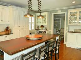 traditional kitchen with wood counters u0026 complex granite counters