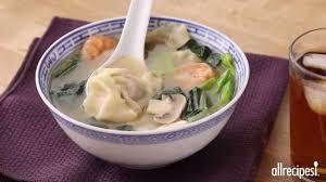homemade wonton soup recipe allrecipes com