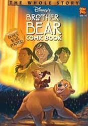 brother bear comic book otter press u003c australia disney comics