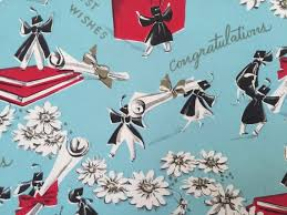 graduation wrapping paper 1947 best the goose and the hound vintage wrapping paper images