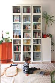 Ikea Billy Bookcase Door White Ikea Billy Bookcase With Doors My Final Bookcase Home