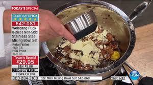 Wolfgang Puck Kitchen Knives Hsn Chef Wolfgang Puck 06 03 2017 12 Am Youtube