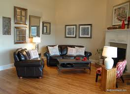 Corner Fireplace Living Room Furniture Placement - great sofa placement around corner fireplace ideas for small space