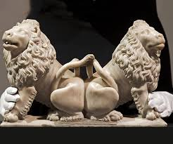 marble lions christie s london auctions marble lions by sculptor andre