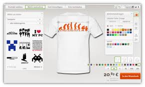shirt selbst designen computer t shirt selbst gestalten
