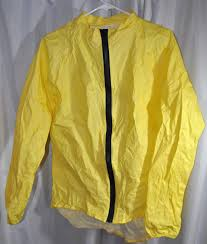 cycling rain shell fs o2 cycling rain jacket large 5oz with stuff sack