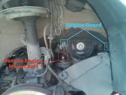 2004 toyota camry motor mount replacing a serpentine belt tensioner assembly on a 2004 toyota