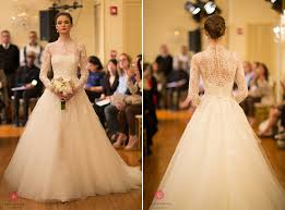 wedding dresses with sleeves 10 wedding dresses with sleeves from new york bridal fashion week