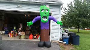 halloween inflatable new for 2017 halloween inflatable 8ft reaching monster