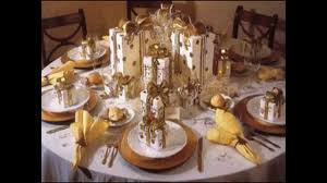 Table Decorations For Christmas by Easy Christmas Dinner Party Ideas Youtube