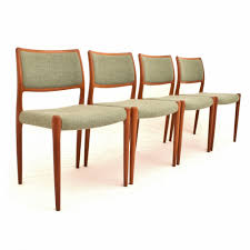 Danish Teak Dining Chairs Designed By Niels Otto Møller For JL - Designed chairs