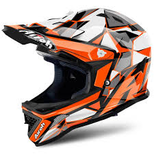 youth xs motocross helmet 2018 airoh archer junior youth motocross helmet chief orange