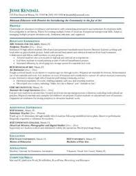 Resume Sample For Teaching by A Resume For The Modern Art Teacher Art Ed Pinterest Modern