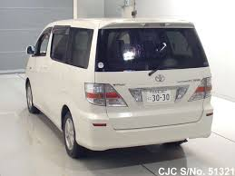 2003 toyota alphard white for sale stock no 51321 japanese