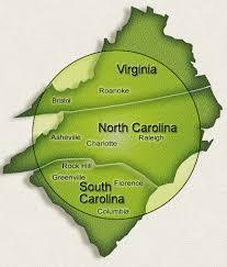 map of virginia and carolina map of virginia carolina and south carolina virginia map