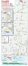 Map My Route by Race Maps Goodlife Fitness Toronto Marathon