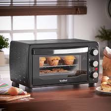 Portable Toaster Oven Vonshef 220 Volts 19 Liter Toaster Oven Grill 1400 Watts With