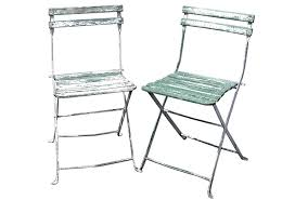 Vintage Bistro Chairs Wood Metal Bistro Chairs S 2 Omero Home