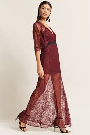 lace maxi dress sheer lace maxi dress forever21