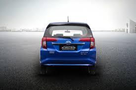 Daihatsu Sigra Trunk Lid Cover Chrome daihatsu sigra 1 2 x mt price review and specs oto
