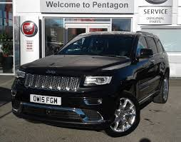 wrecked jeep grand cherokee used jeep grand cherokee cars for sale motors co uk