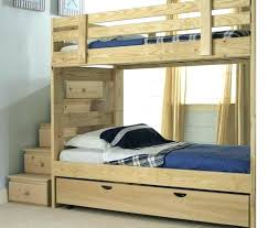 building a bunk bed diy loft bed with stairs plans inspiring playhouse and white