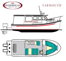Aluminum Boat Floor Plans by Rf 246 Rosborough Boats Usa