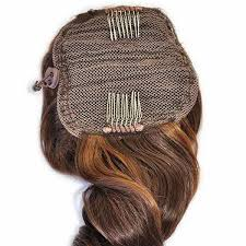clip on extensions clip on ponytail synthetic hairpiece lox hair extensions