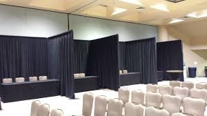 pipe and drape rental setup take pipe drape surdel party rentals