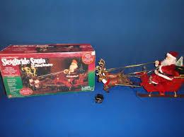 sleigh ride santa with flying reindeer gemmy wiki fandom