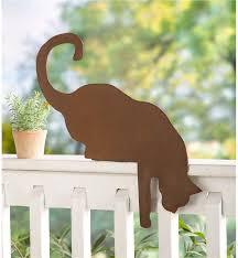 Cat Garden Decor Cat Décor Cat Decorations For The Home Wind U0026 Weather