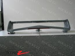 evo spoiler 97 01 mitsubishi lancer mirage evo 6 style trunk spoiler wing w