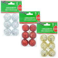 bulk house foam based disco ornaments 6 ct packs