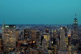 twilight of the city picture of new york city new york