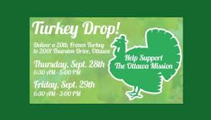 turkey drop in support of the ottawa mission 1310 news